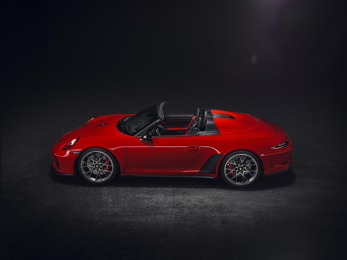 De Porsche 911 Speedster gaat in productie
