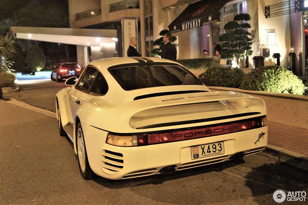 Monaco laat weer een unieke Porsche 959 zien