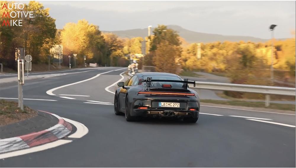 Filmpje: Porsche 992 GT3 gaat los op de Nürburgring