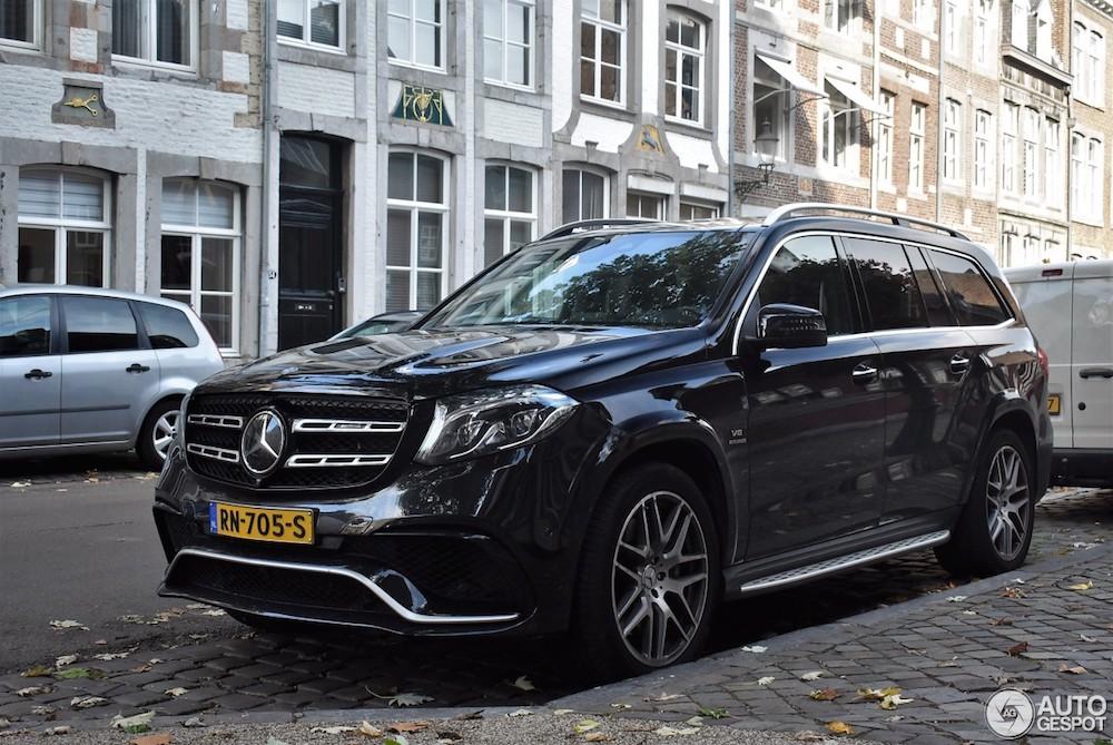 Spot van de dag: Mercedes-AMG GLS 63