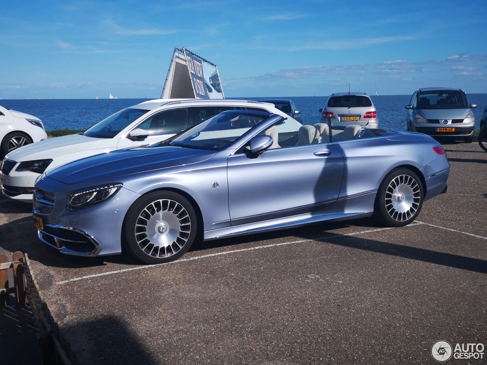 Spot van de dag: Mercedes-Maybach S 650