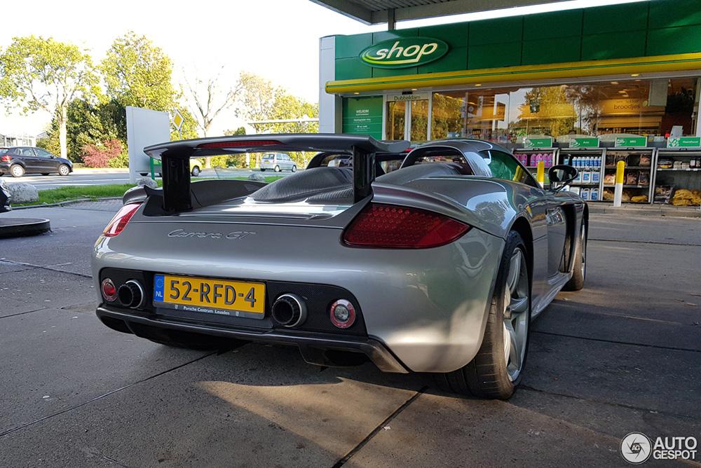 Porsche Carrera GT mag na zes jaar weer buiten spelen