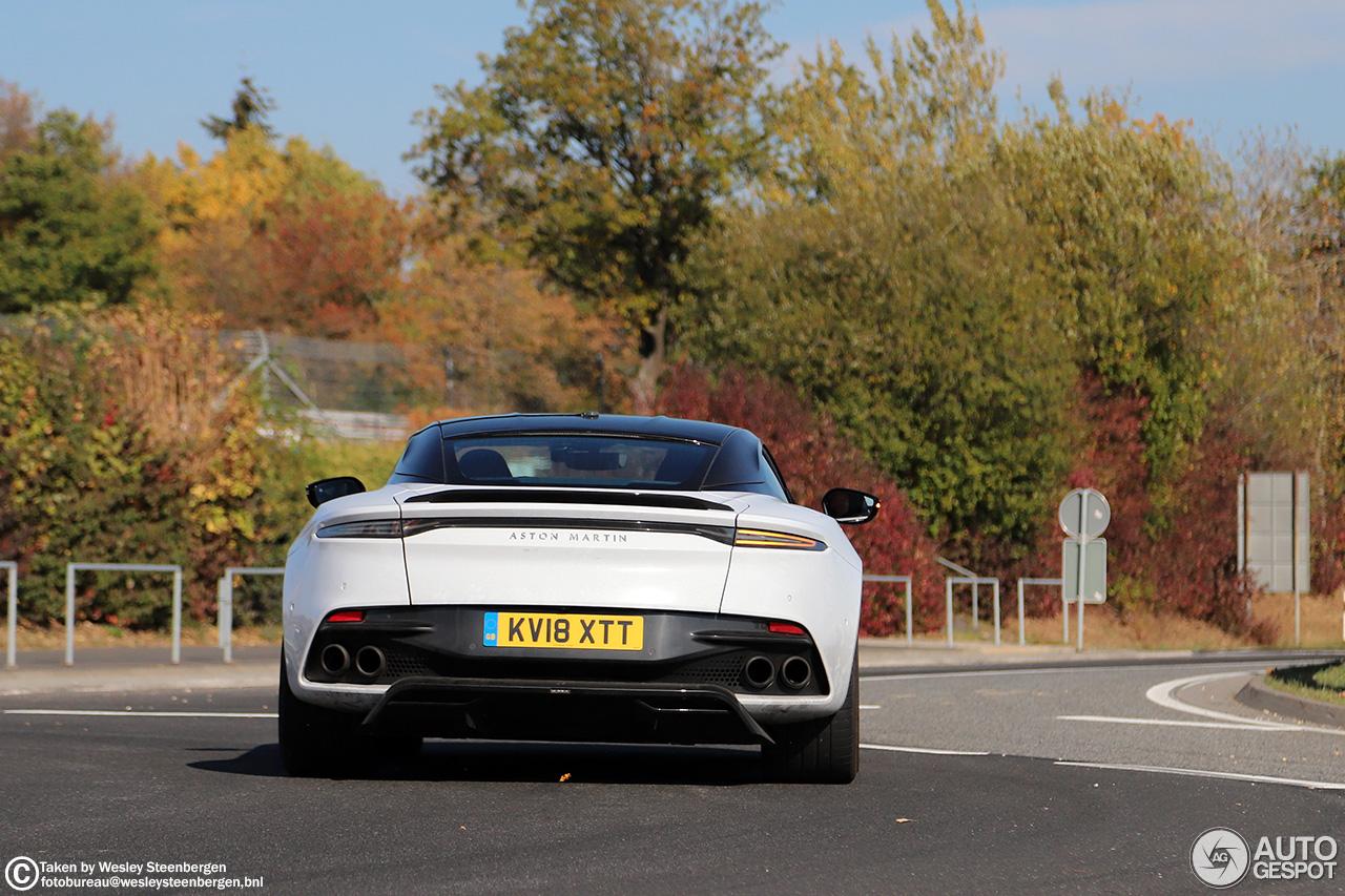 Aston Martin legt laatste hand aan DBS Superleggera