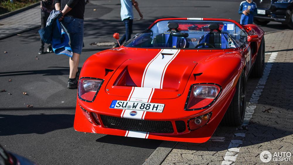 福特GT 40 Roadster,正品,或仿制?