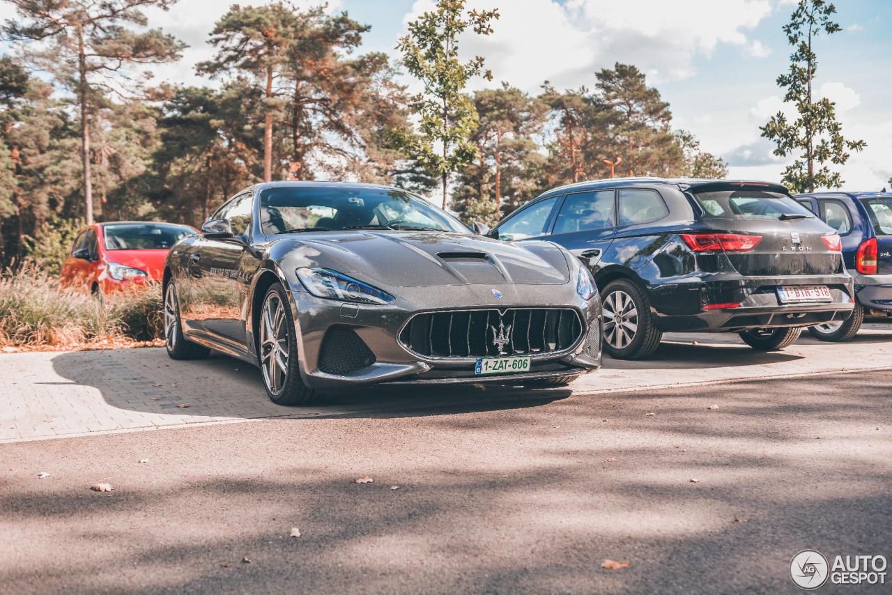 Zoek de verschillen: Maserati GranTurismo MC 2018
