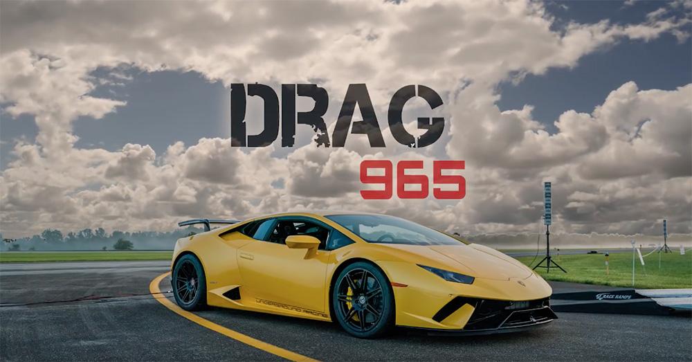 Filmpje: Twin Turbo Lamborghini Huracán doet 418 km/u