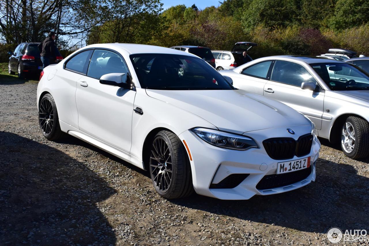 BMW levert de M2 Competition op volle kracht uit