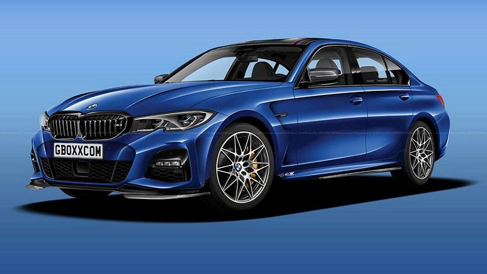 Rendering: BMW M3 2020