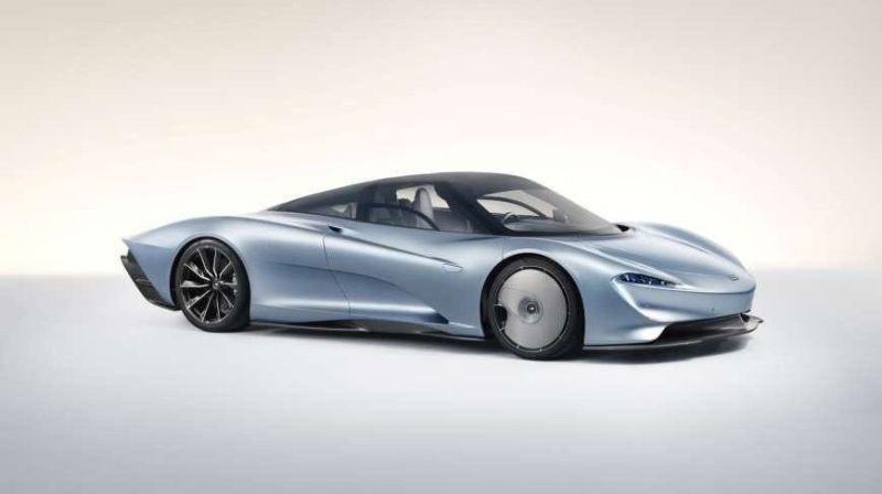 McLaren Speedtail breekt het internet