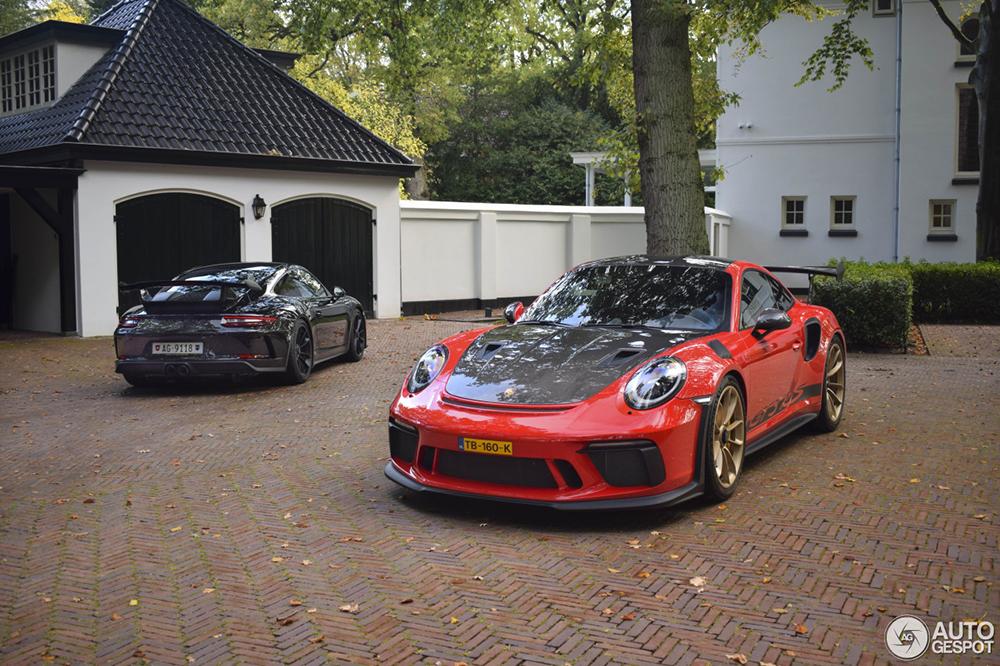 Combo van lekkerste Porsches van het moment