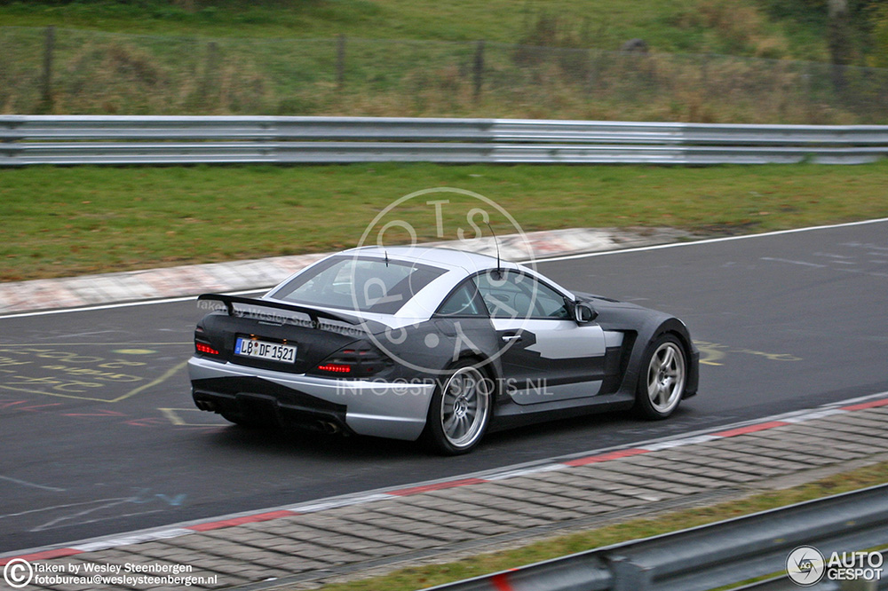 Tijdmachine: Mercedes-Benz SL 65 AMG Black Series spyshots