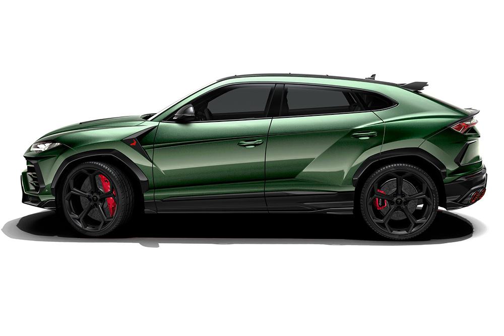 Topcar Lamborghini Urus nu in het echt