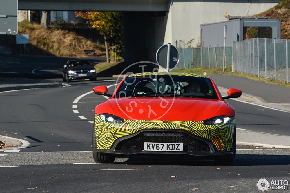 Zien we hier alweer een update van de Aston Martin Vantage?
