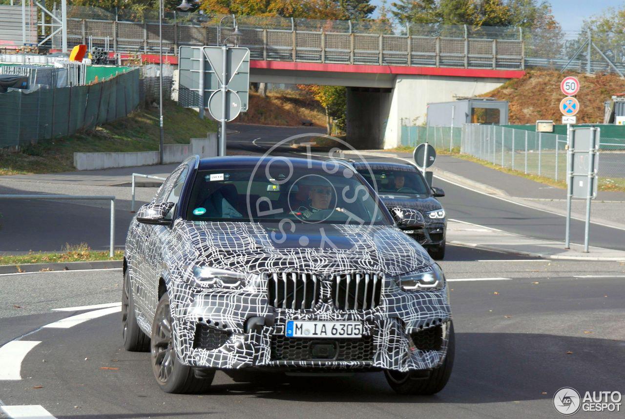BMW X6 M draait ook nog zijn laatste testrondjes van dit jaar