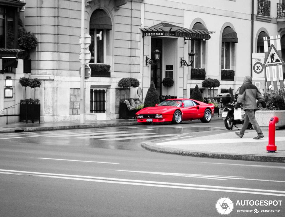 Ferrari 288 GTO heeft het goed in Genève