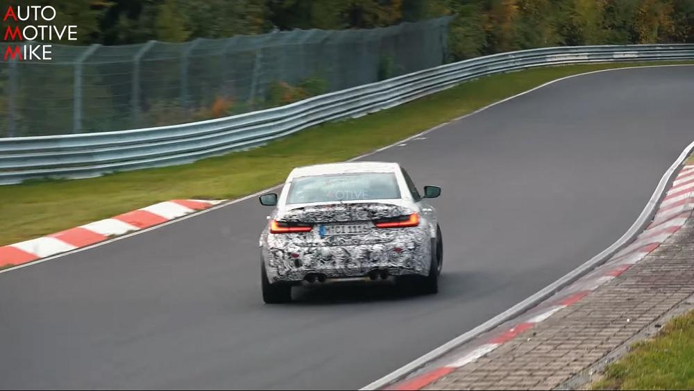 Nieuwe BMW M3 wordt hard getest op de Nürburgring