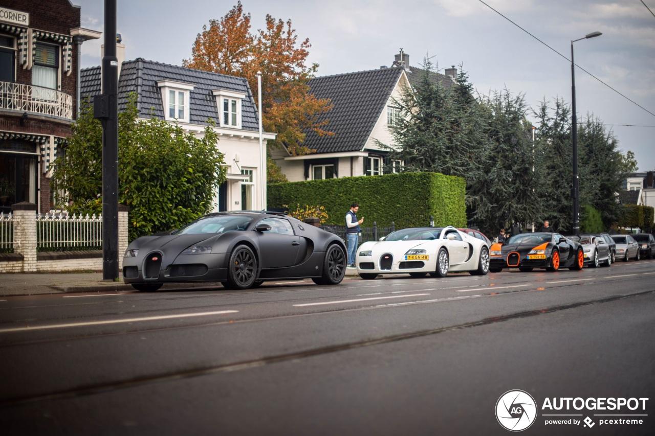 Spot van de dag: Bugatti Chiron!