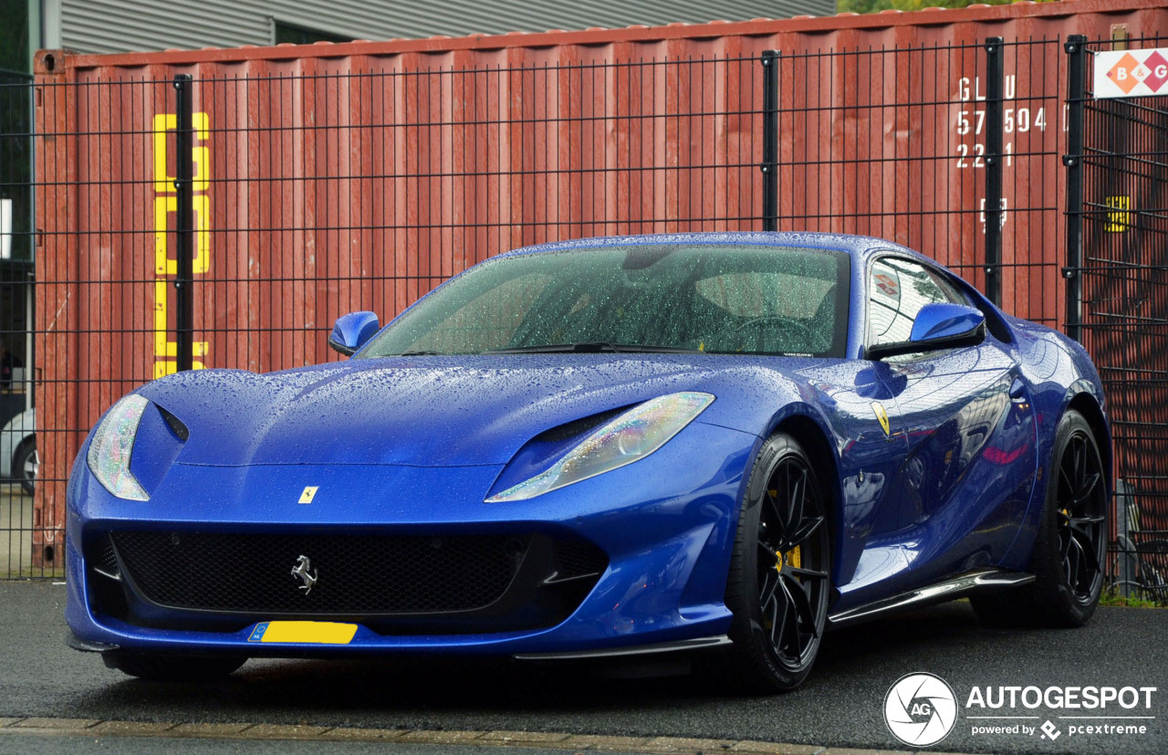 Spot van de dag: Ferrari 812 Superfast