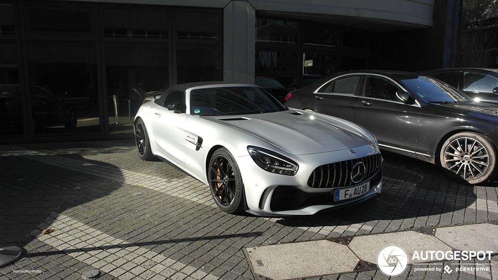 Mercedes-AMG GT R Roadster is lust voor het oog