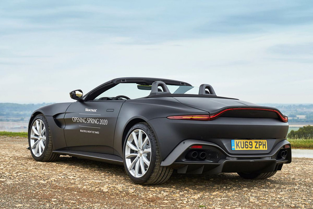 Dit is de Aston Martin Vantage Roadster
