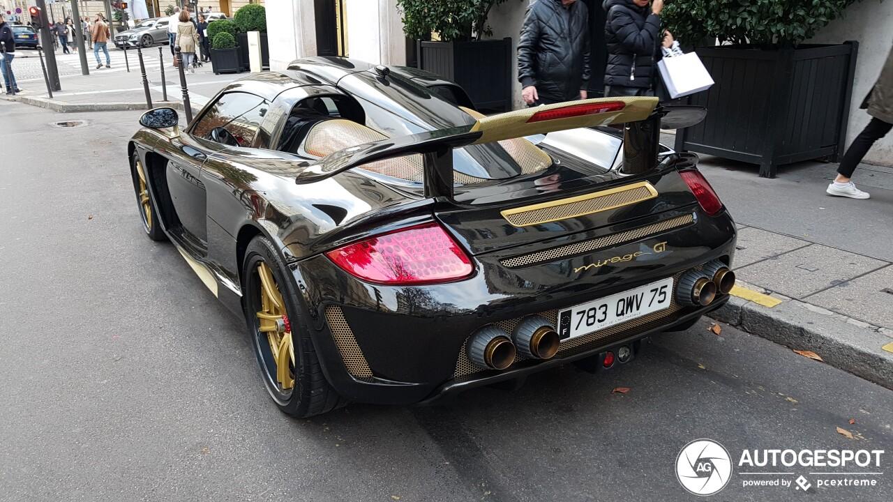 De Porsche Carrera GT is minstens 25 keer verpest