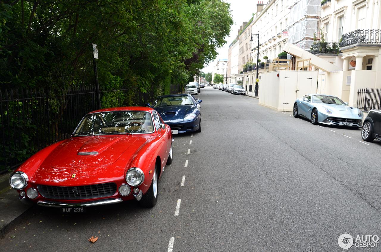 Chique Ferrari heeft regelmatig goed gezelschap