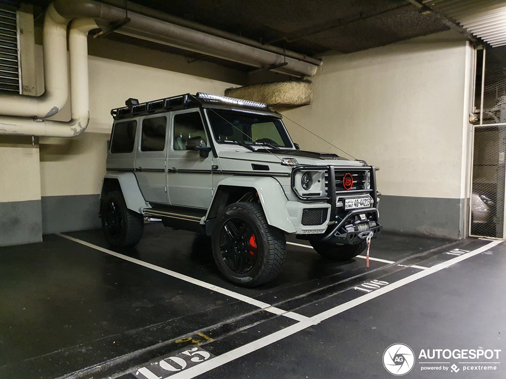 Mercedes-Benz Brabus G 550 Adventure 4x4 is tandje extreem