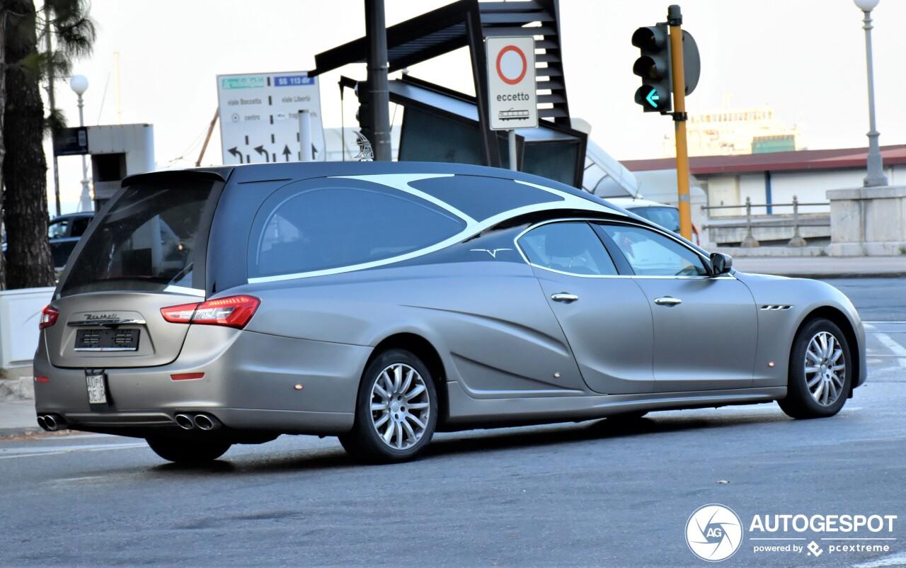 Deze Maserati Ghibli brengt je in stijl naar je eind