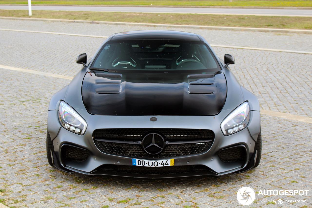 Mercedes-AMG GT S Prior Design maakt het wel heel bont