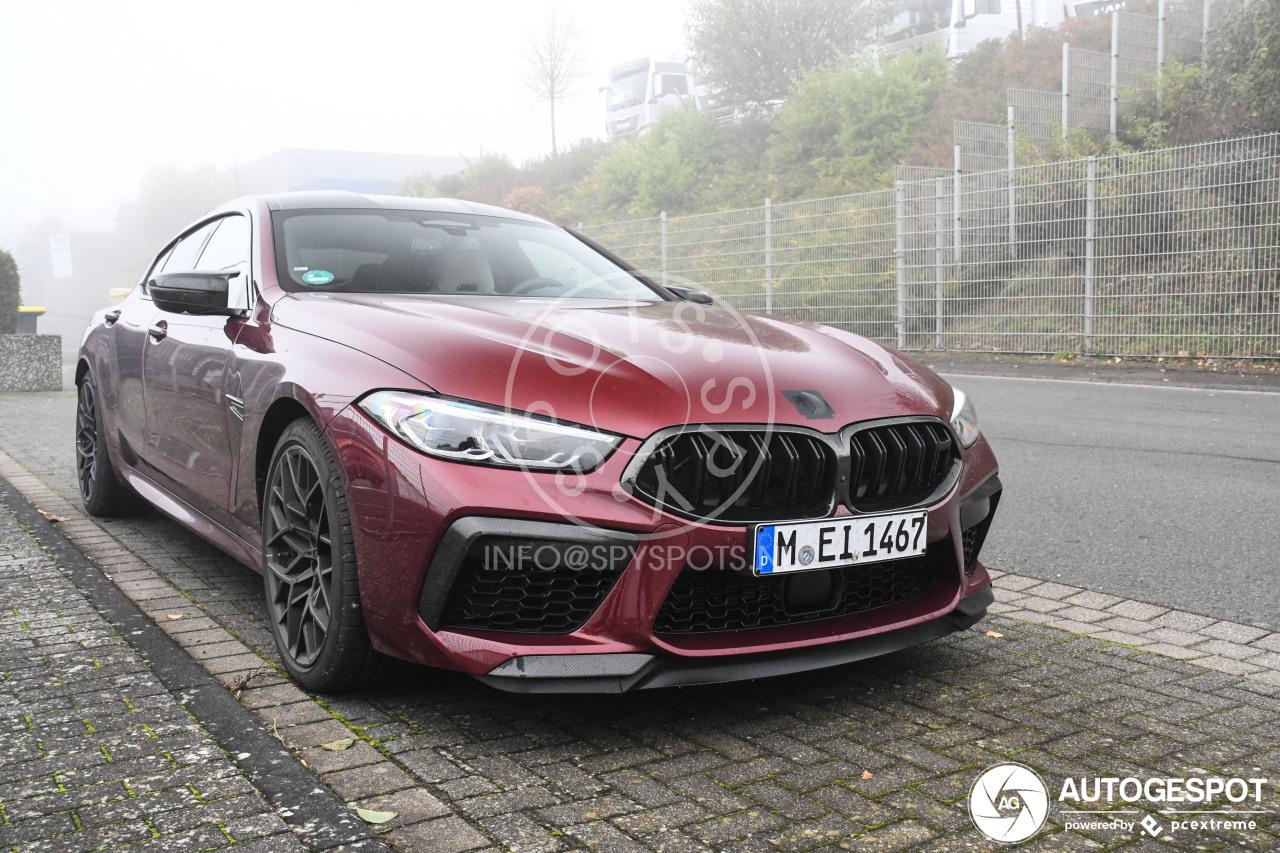 BMW M8 Gran Coupé Competition is de auto die je wilt hebben