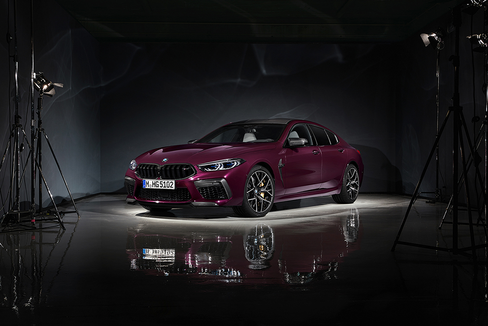 BMW M8 Gran Coupé is ready for u
