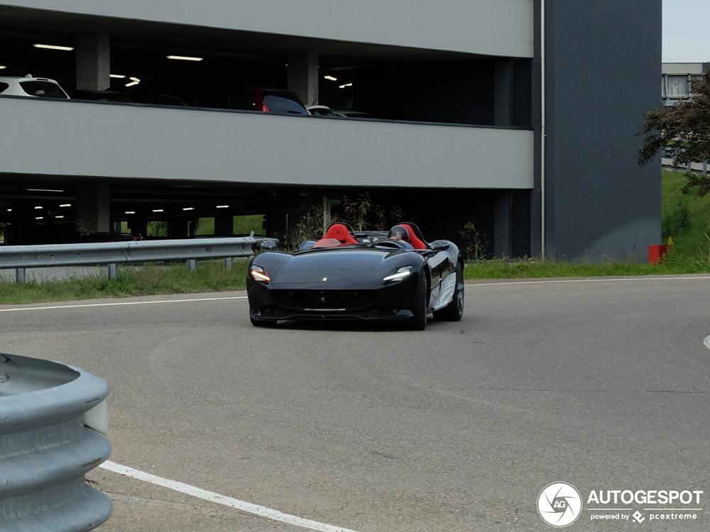 Eerste Ferrari Monza SP2 is bijna klaar om afgeleverd te worden