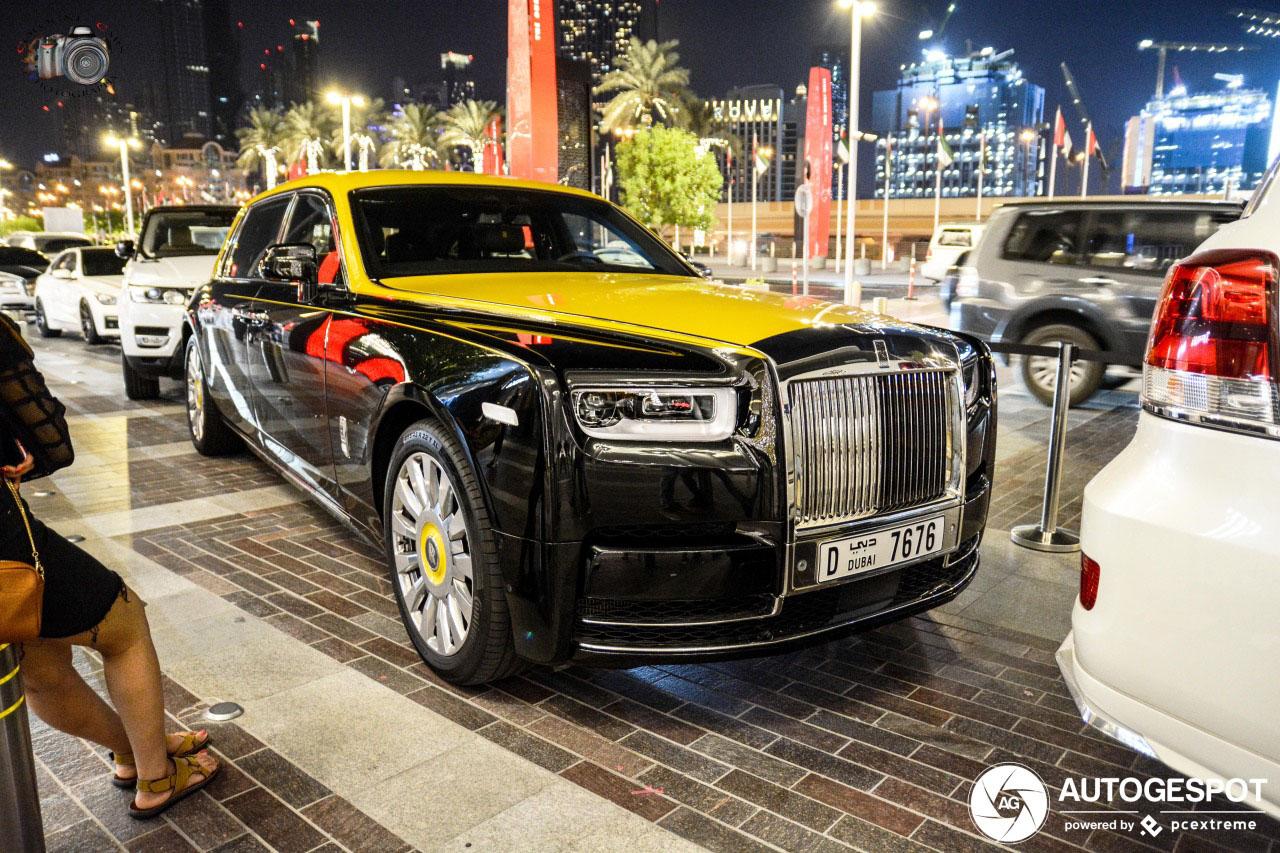 Rolls-Royce Phantom VIII kan dienst doen als taxi
