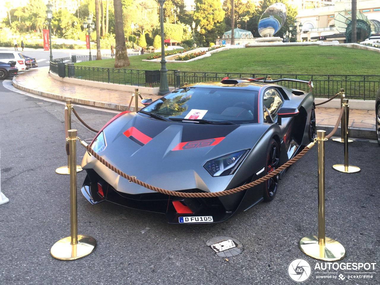 Lamborghini SC18 Alston doet Monaco eer aan