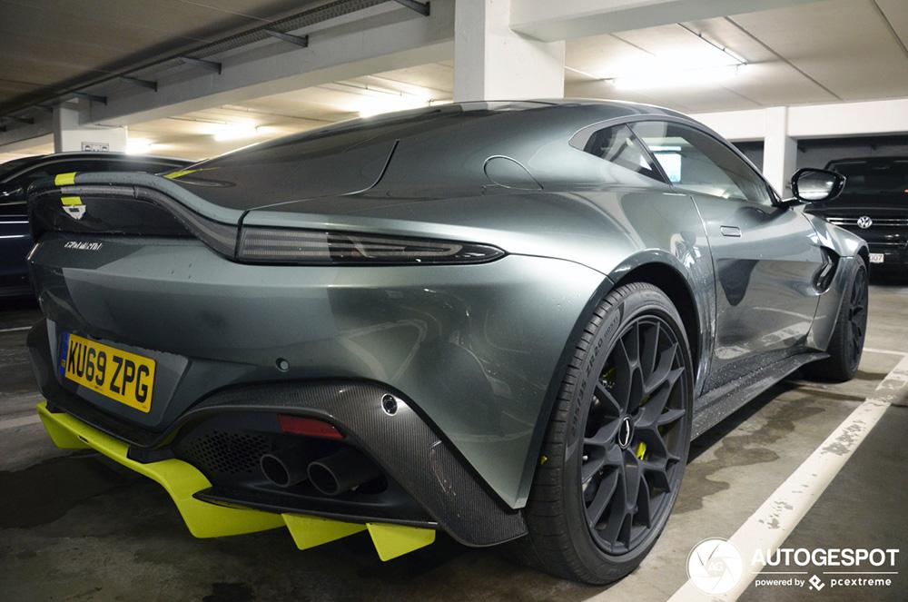 Aston Martin V8 Vantage AMR 59 Le Mans voor het eerst gespot