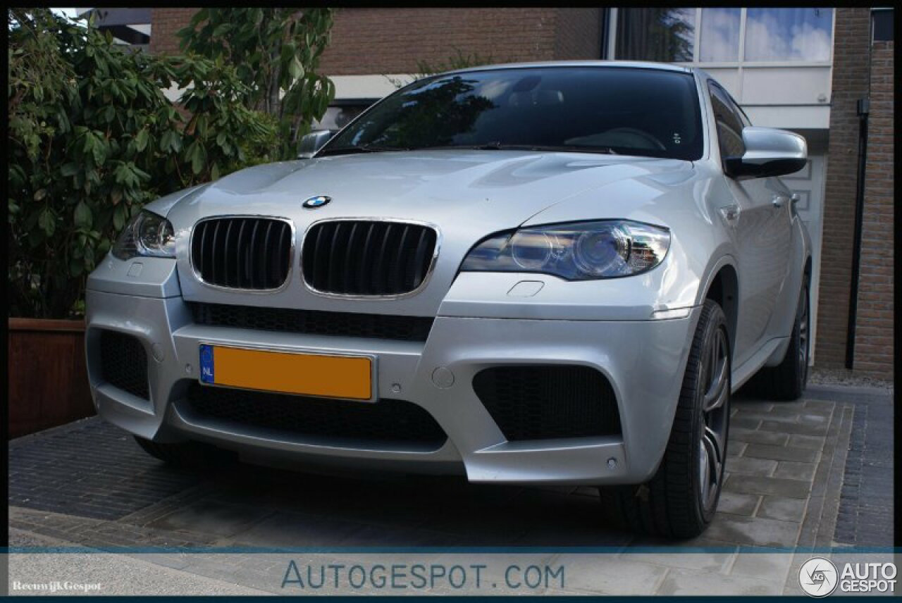 Vandaag tien jaar geleden: BMW X6 M E71 voor het eerst gespot