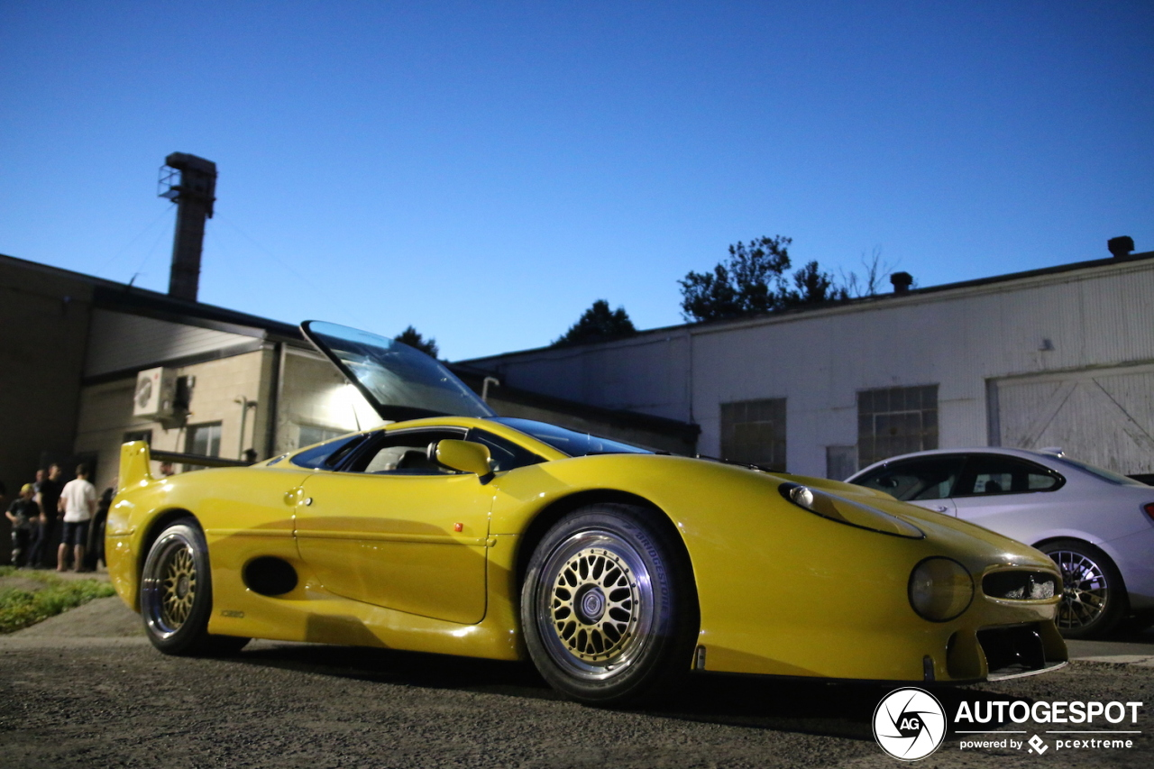 From the European continent to Canada: Jaguar XJ220S TWR