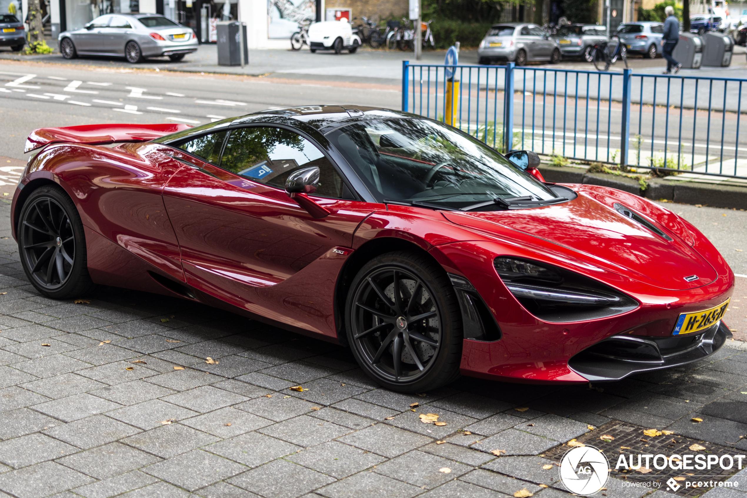 Spot van de dag: McLaren 720S
