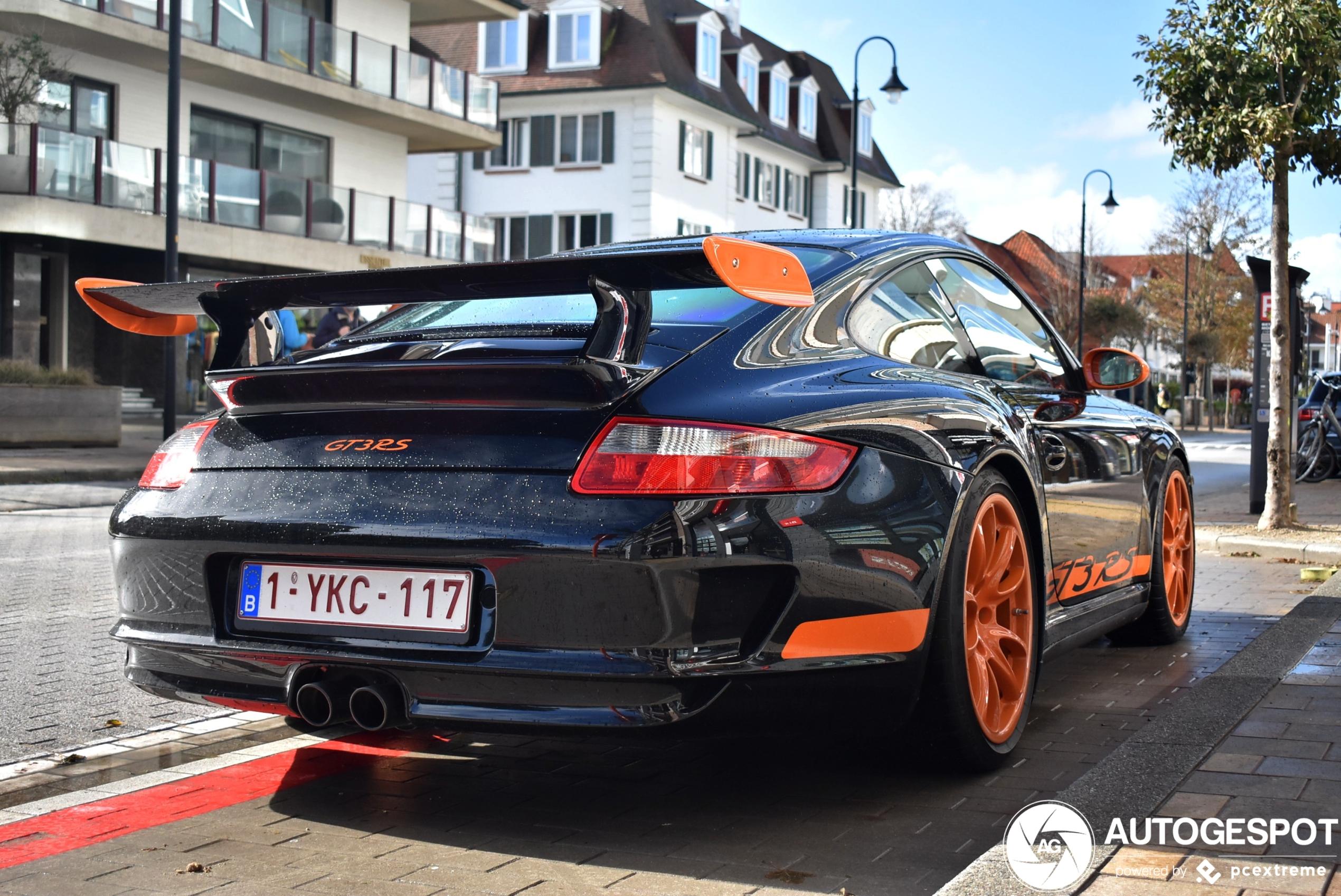 Porsche 997 GT3 RS blijft een plaatje