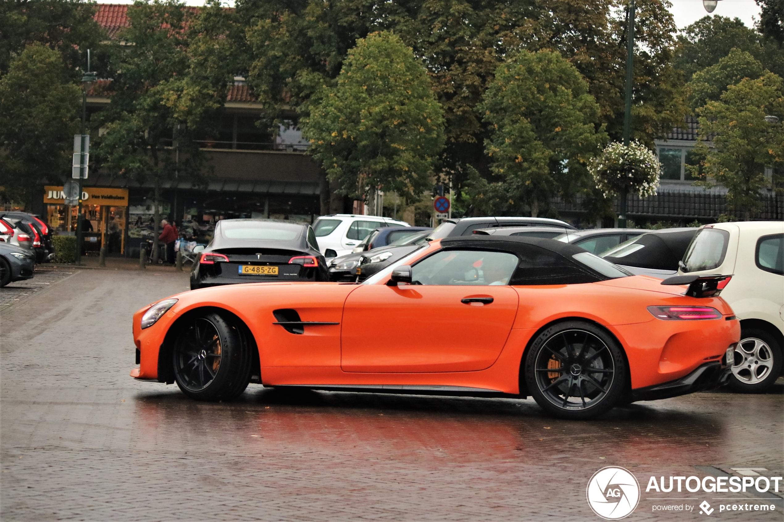 Spot van de dag: Nederlands gekleurde AMG GT-R Roadster!