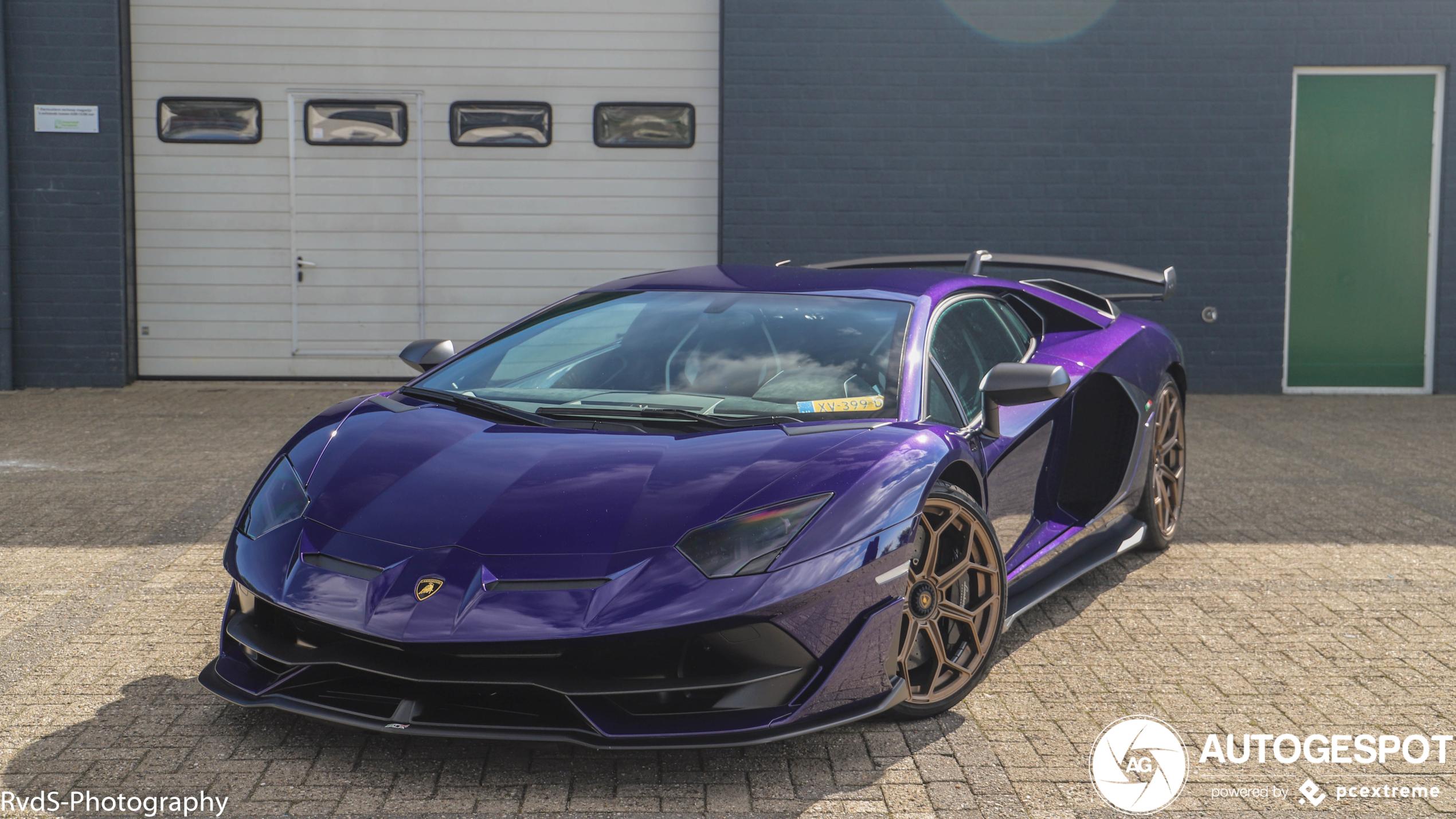 Spot van de dag: Lamborghini Aventador SVJ
