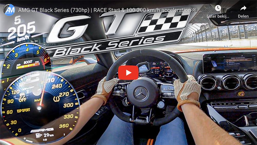 Vol in actie: Mercedes-AMG GT Black Series op Lausitzring