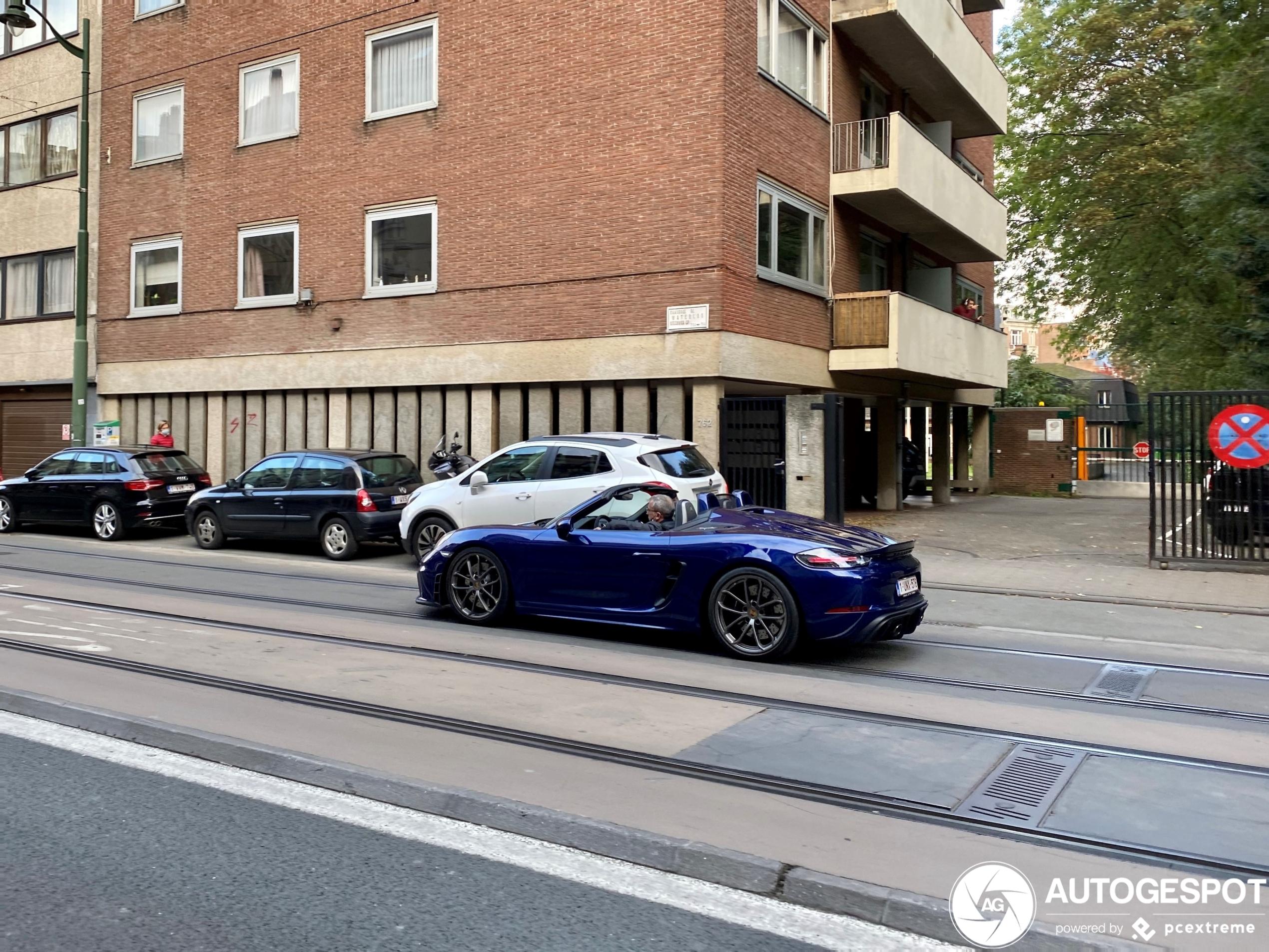 Porsche Boxster Spyder is een heerlijk pakket