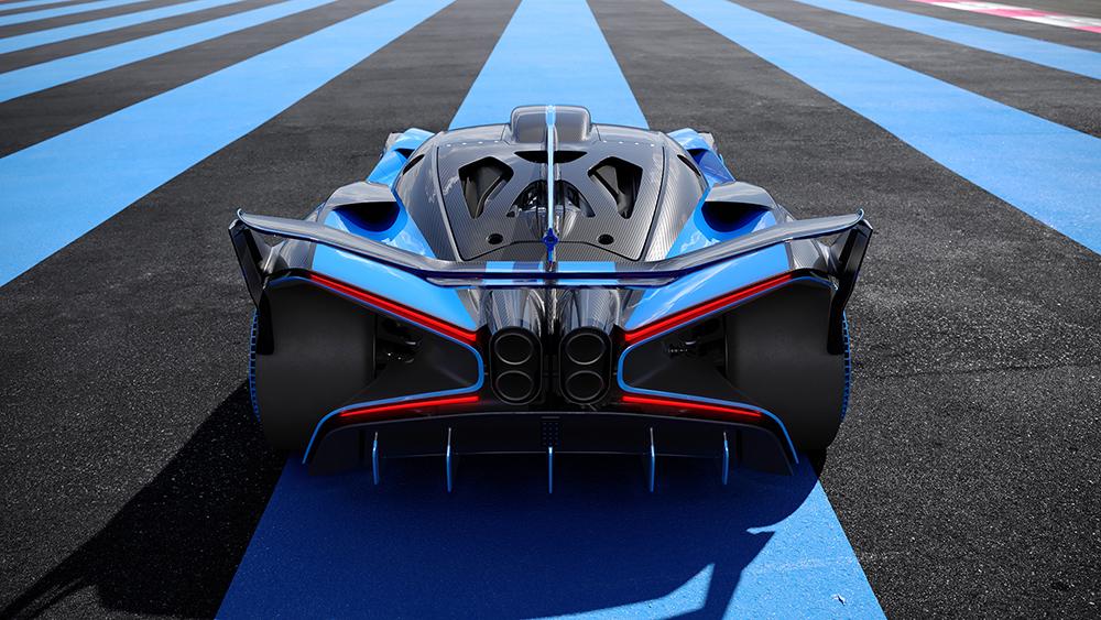 Bugatti laat zien wat ze kunnen met de Bolide
