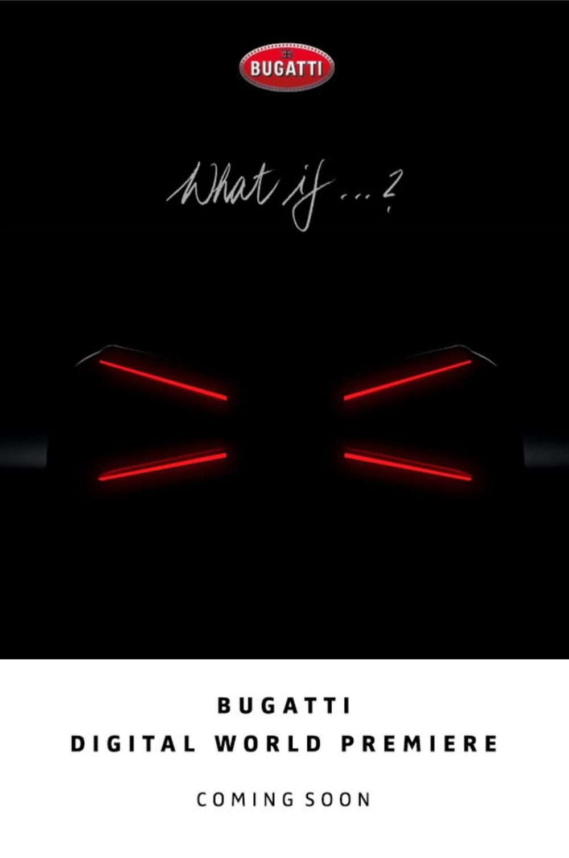 Bugatti komt met een nieuwe one-off?
