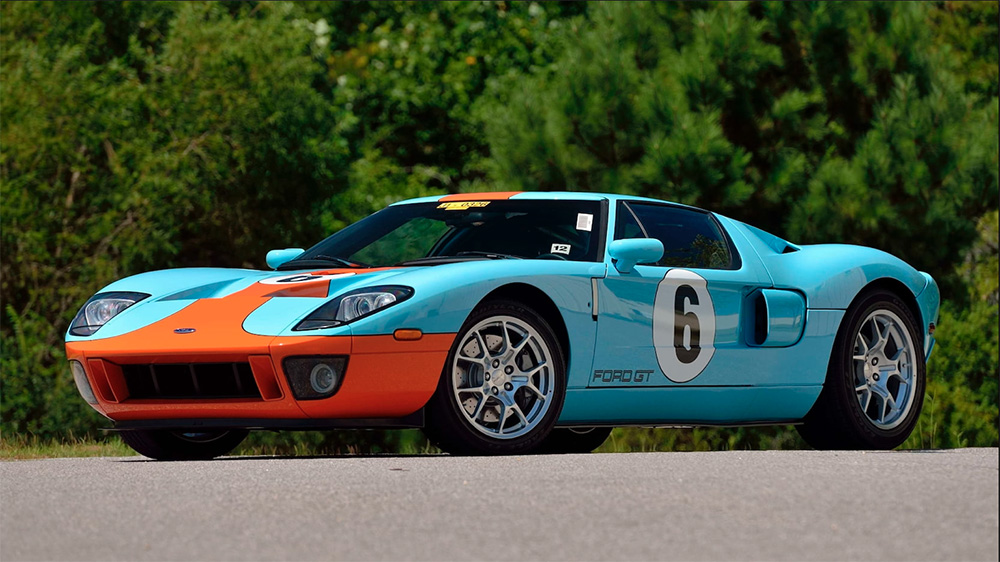 Rare Ford GT Supercar Headed For The Auction Block