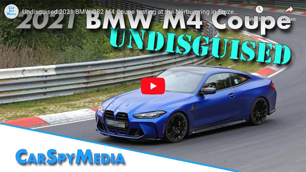 BMW M4 Coupé wordt flink afgetraind op de Nürburgring