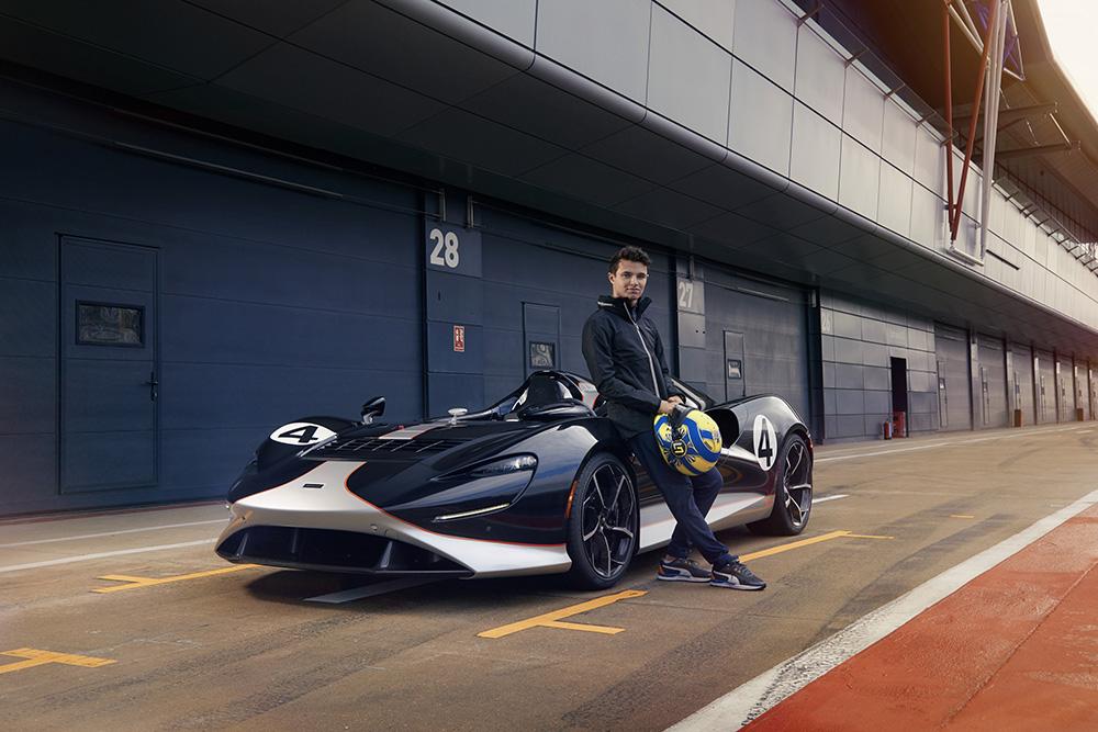 Wat kan de McLaren Elva met Lando Norris achter het stuur
