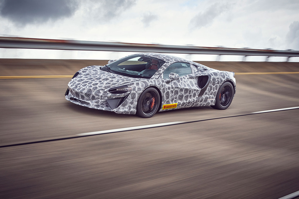 Mclaren's newest hybrid supercar goes into final testing
