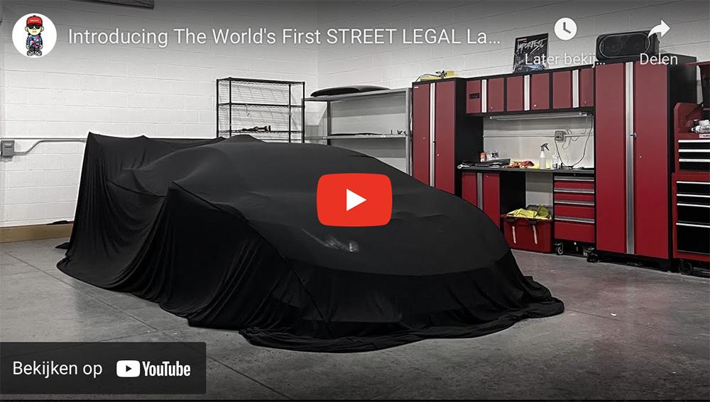 Dit is de eerste straatlegale Lamborghini Huracán Super Trofeo EVO